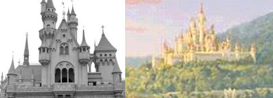 Sleeping Beauty's Castle vs. Queen Lillian and King Harold's